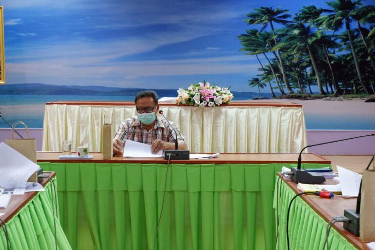 ประชุมคณะกรรมการพัฒนาเทศบาลตำบลเขาวัว-พลอยแหวน ครั้งที่ 2/2564