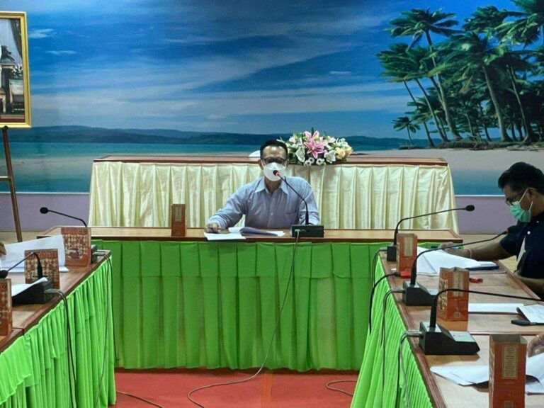 การประชุมคณะกรรมการสนับสนุนการจัดทำแผนพัฒนาเทศบาลตำบลเขาวัว-พลอยแหวน ครั้งที่ 3/2564